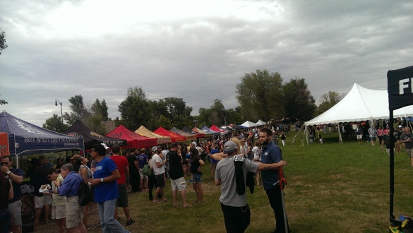 Breweries wrapping around Four Mile Historic Park.
